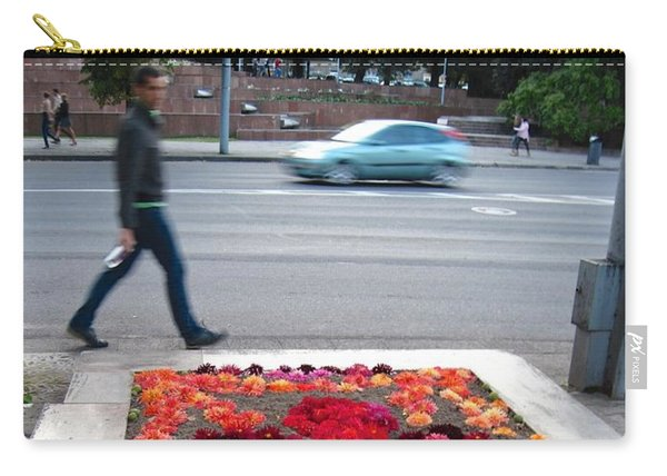 Carry-all Pouch featuring the photograph I See Flowers For You Everywhere by Mary Lee Dereske