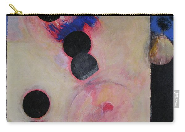 Carry-all Pouch featuring the painting I Smell Chocolate  by Cliff Spohn