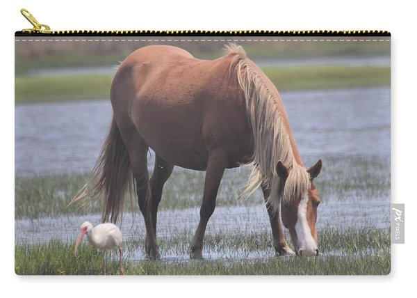 Ibis And Shackleford Pony 2 Carry-all Pouch