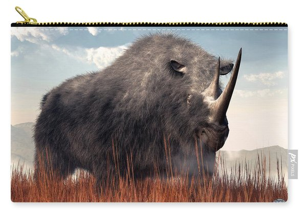Ice Age Rhino Carry-all Pouch