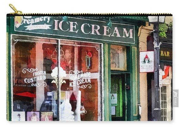 Alexandria Va - Ice Cream Parlor Carry-all Pouch