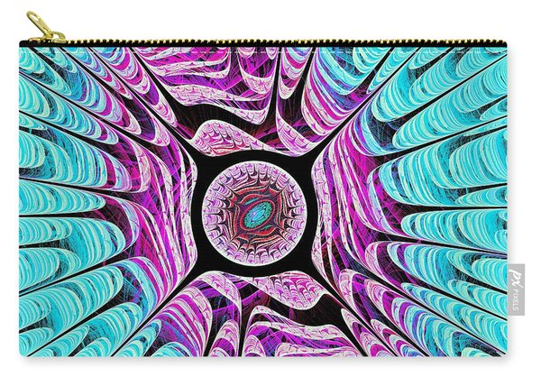 Ice Dragon Eye Carry-all Pouch