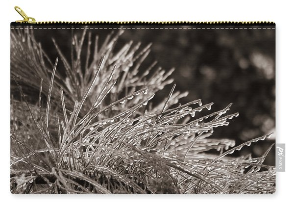 Ice On Pine Carry-all Pouch