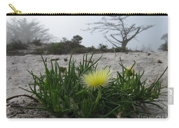 Iceplant Bloom On Carmel Dunes Carry-all Pouch