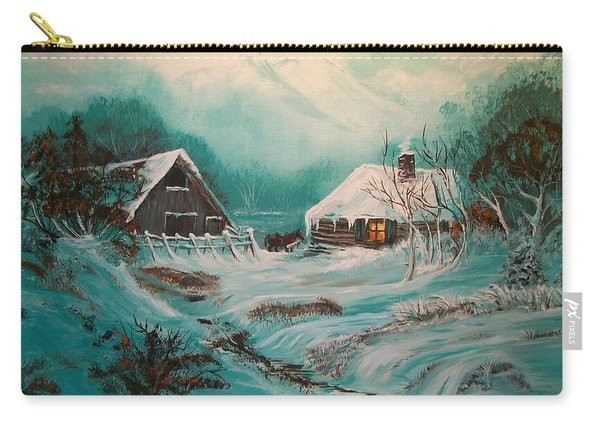 Icy Twilight Carry-all Pouch