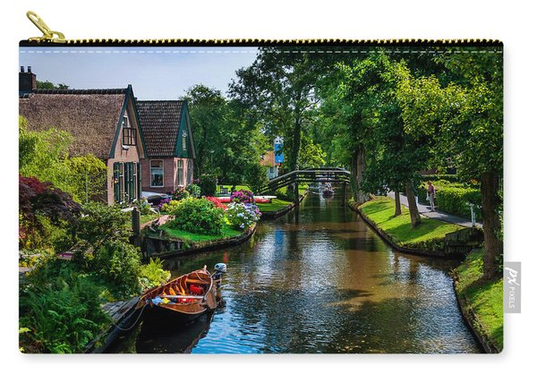 Idyllic Village 15. Venice Of The North Carry-all Pouch