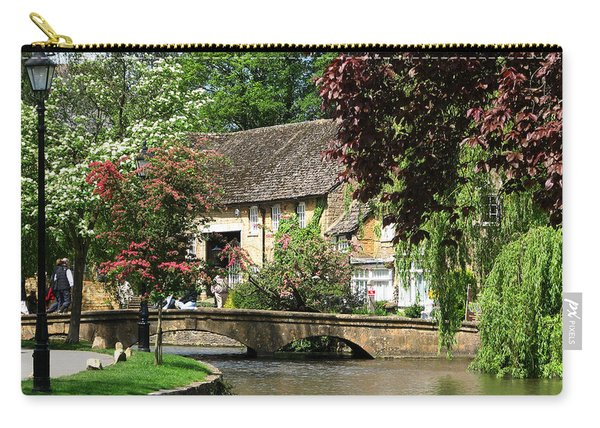 Idyllic Village Scene Carry-all Pouch