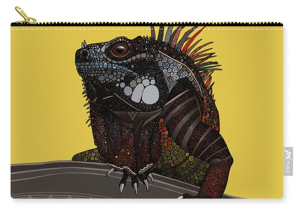 Iguana Gold Carry-all Pouch