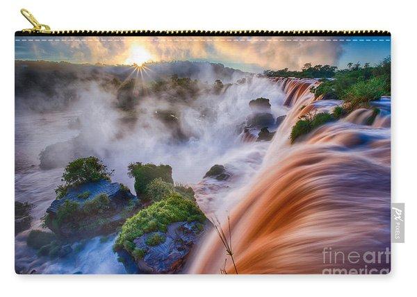 Iguazu Sunrise Carry-all Pouch