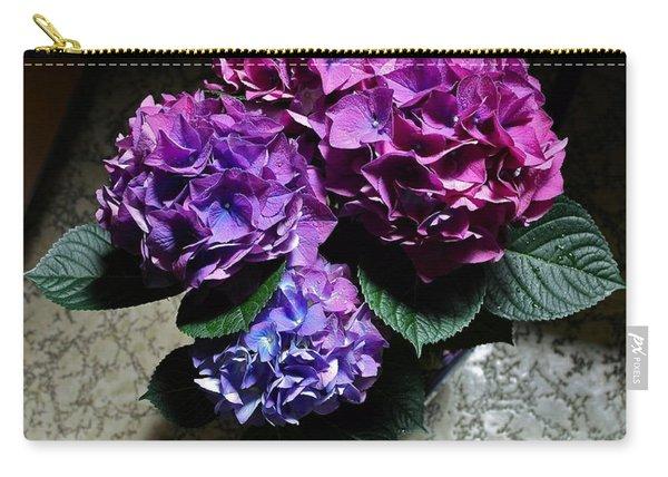 Illuminated Hydrangea Carry-all Pouch