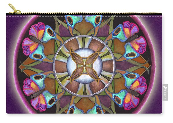 Illusion Of Self Mandala Carry-all Pouch