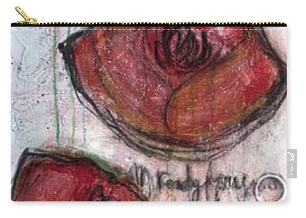 Im Ready For Your Love Poppies Carry-all Pouch