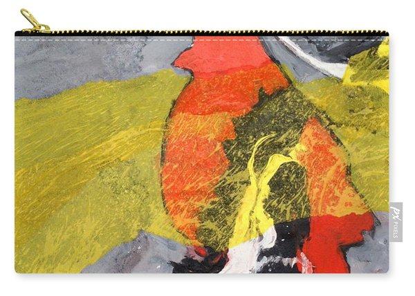 Red Bird Flyaway Carry-all Pouch