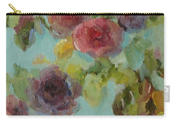 Impressionist Floral  Carry-all Pouch