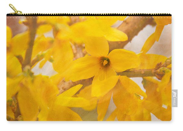 Impressionist Forsythia Carry-all Pouch