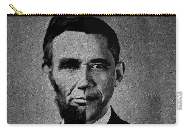 Impressionist Interpretation Of Lincoln Becoming Obama Carry-all Pouch
