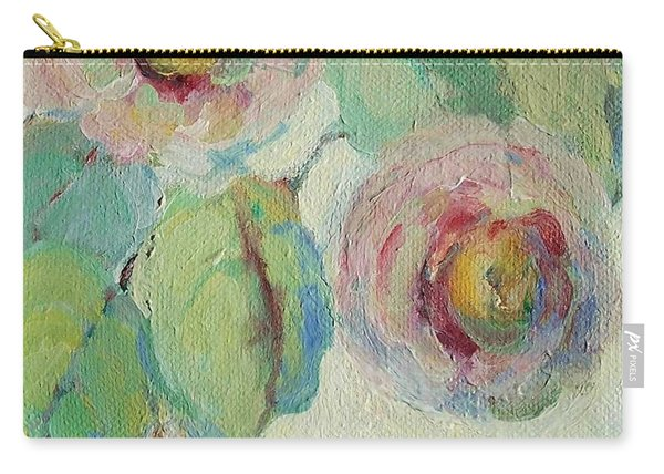 Impressionist Roses  Carry-all Pouch