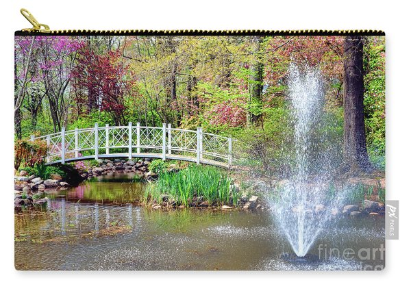 Impressionist Sayen Garden Carry-all Pouch
