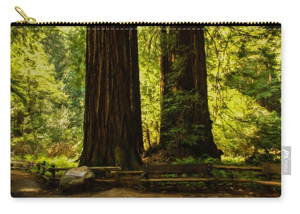 Impressions Of Muir Woods California Carry-all Pouch