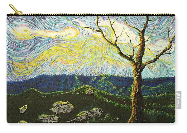 In Between A Rock And A Heaven Place Carry-all Pouch