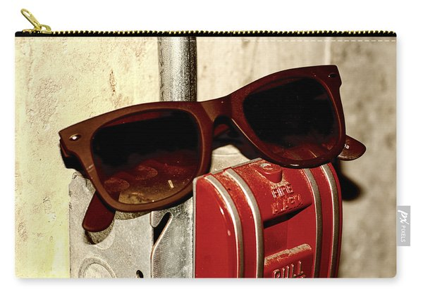 In Case Of Fire Grab Shades Carry-all Pouch