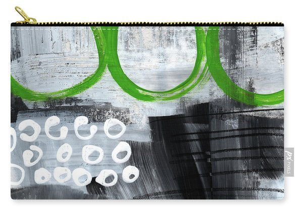In Circles- Abstract Painting Carry-all Pouch