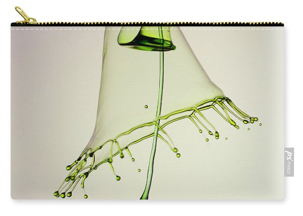 Carry-all Pouch featuring the photograph In Green by Jaroslaw Blaminsky