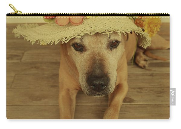 In Her Easter Bonnet Carry-all Pouch