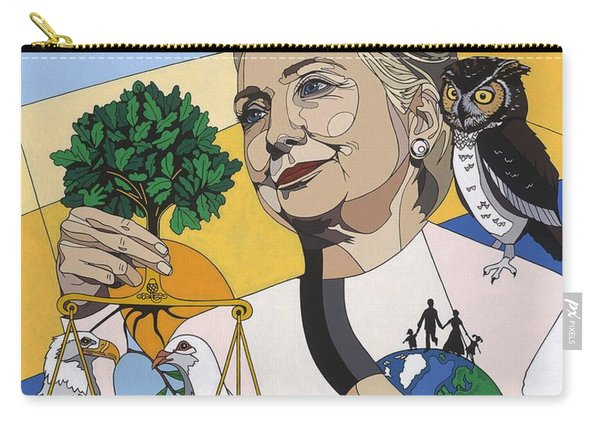 In Honor Of Hillary Clinton Carry-all Pouch