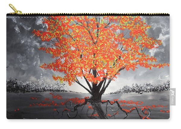 Blaze In The Twilight Carry-all Pouch