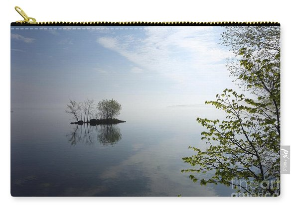 In The Distance On Mille Lacs Lake In Garrison Minnesota Carry-all Pouch