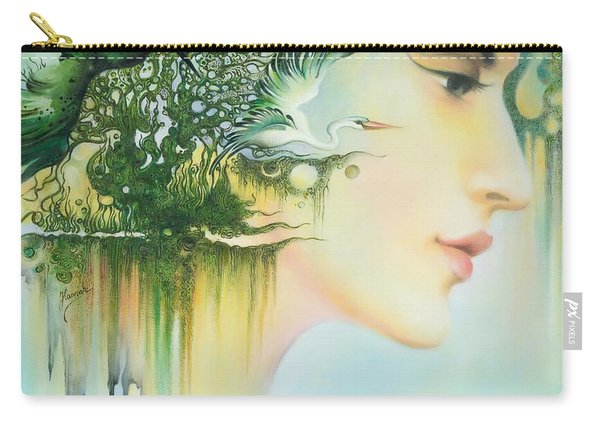 In The Fluter Of Wings-in The Silence Of Thoughts Carry-all Pouch