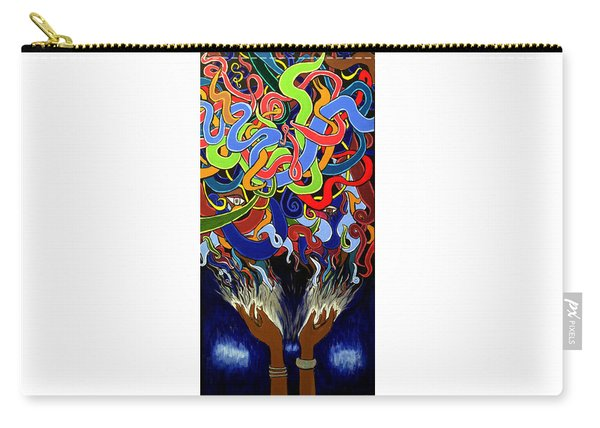 In The Midst - Abstract Art Painting  - Ai P. Nilson Carry-all Pouch