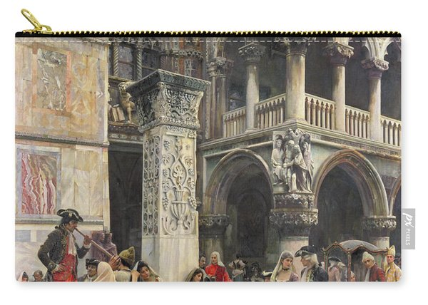 In The Piazzetta Carry-all Pouch