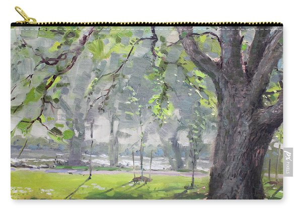 In The Shade Of The Big Tree Carry-all Pouch