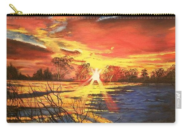 In The Still Of Dawn-2 Carry-all Pouch