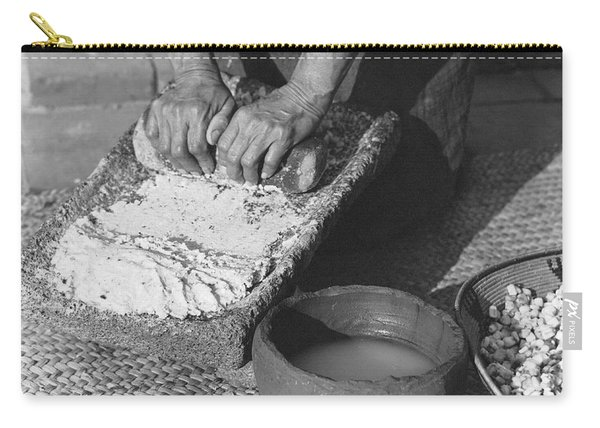 Indains Making Corn Flour Carry-all Pouch