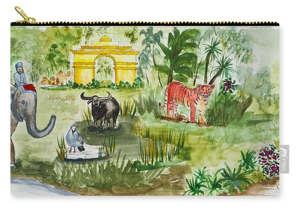 India Friends Carry-all Pouch