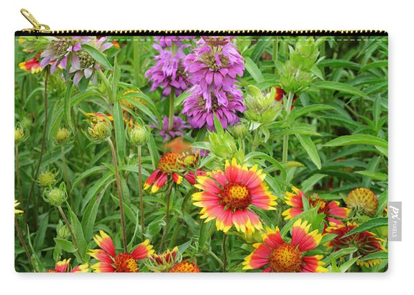 Indian Blankets And Lemon Horsemint Carry-all Pouch