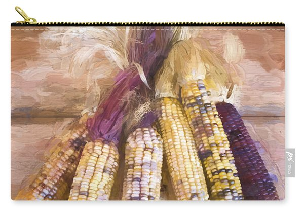 Indian Corn Painterly Effect Carry-all Pouch