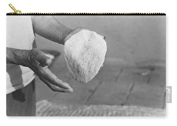 Indian Woman Making Tortillas Carry-all Pouch