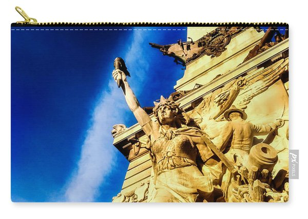 Indiana Civil War Monument Carry-all Pouch