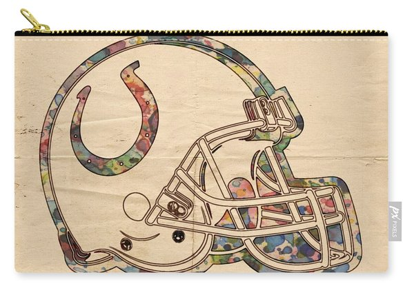 Indianapolis Colts Poster Vintage Carry-all Pouch