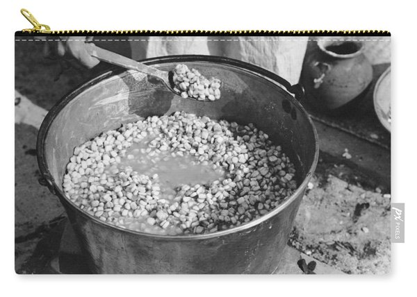 Indians Cooking Corn Carry-all Pouch