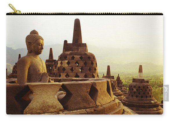 Indonesia, Java, Borobudur Temple Carry-all Pouch