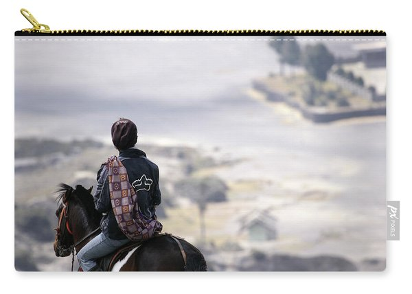 Indonesia, Java, East Java Province Carry-all Pouch