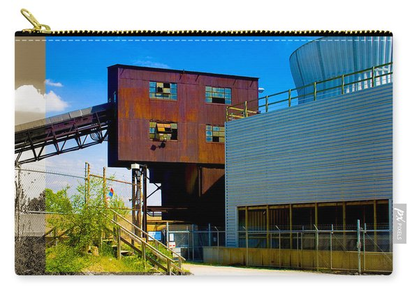Industrial Power Plant Architectural Landscape Carry-all Pouch