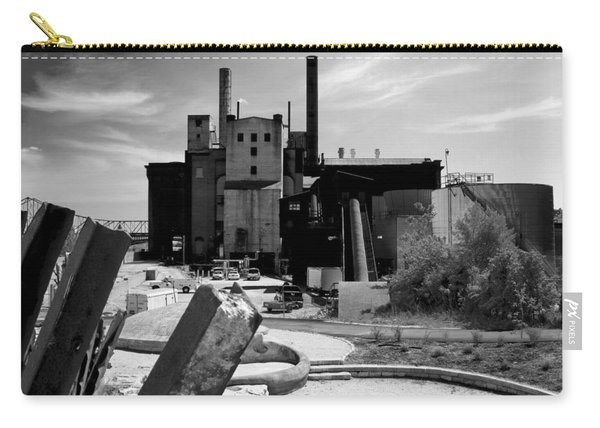 Industrial Power Plant Landscape Smokestacks Carry-all Pouch