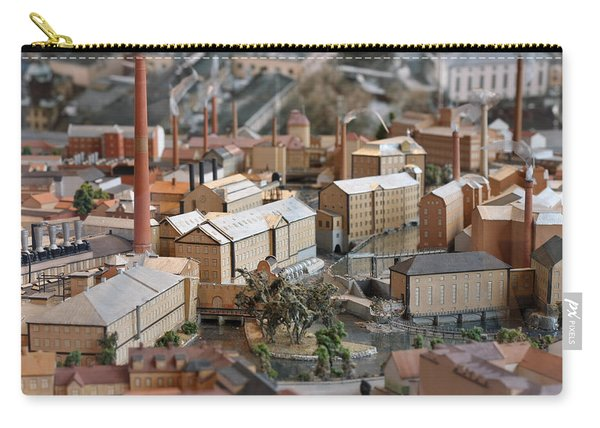 Industrial Town Miniature Model Carry-all Pouch