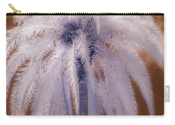 Infrared Palm Tree Carry-all Pouch
